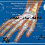 blue romanian certificate